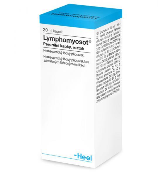 Lymphomyosot - Homeopatické kapky na podporu imunity a lymfodrenáž