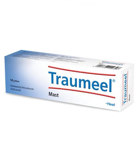 Traumeel mast - Homeopatická mast s využitím při zraněních každého druhu a při zánětlivých onemocněních