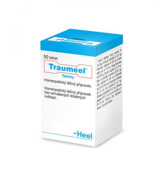 Traumeel tablety - Homeopatické tablety s využitím při zraněních každého druhu a při zánětlivých onemocněních