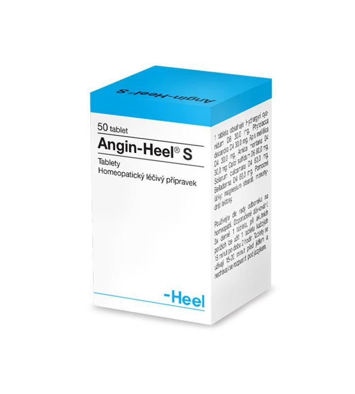 Angin-Heel S - Homeopatický lék na bolesti krku